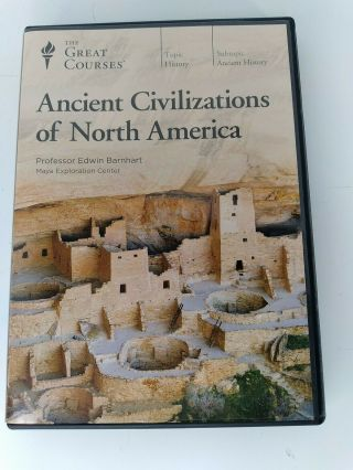 The Great Courses: Ancient Civilizations Of North America Complete Set