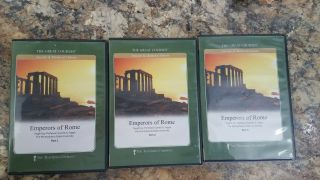 The Great Courses Emperors Of Rome Ancient & Medieval History Dvd Set