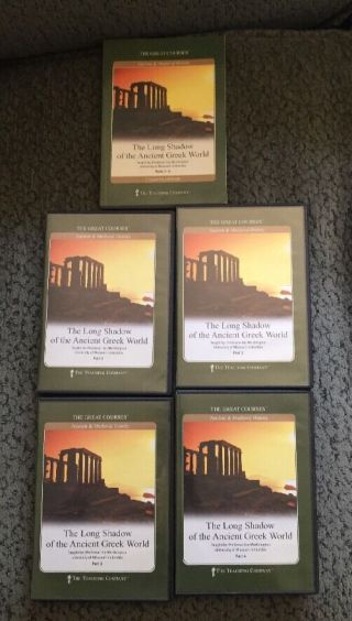 Great Courses - The Long Shadow Of The Ancient Greek World Dvd Set