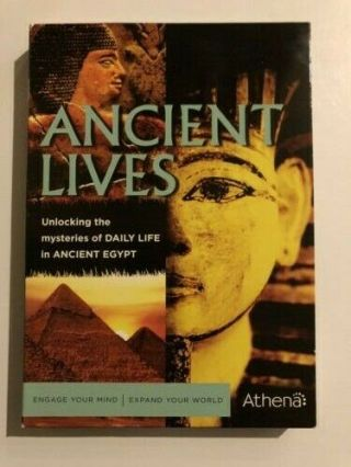 Ancient Lives Mysteries Of Daily Life In Ancient Egypt (dvd) 1st Class