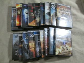 Ancient Aliens.  Seasons 1 Through 12.  Dvd & Blu - Ray & In Search Of Aliens