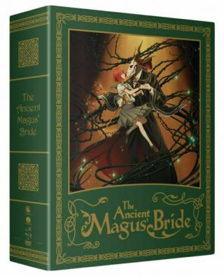 The Ancient Magus Bride: Part One - Limited Edition - Blu - Ray,  Dvd,  Digital