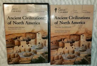 The Great Courses - Ancient Civilizations Of North America - 4 - Dvds & Book