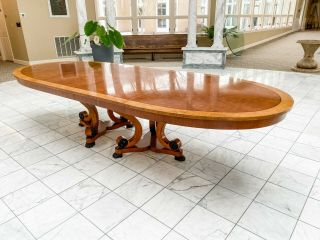 Vintage Henredon Dining Table (seats Up To 12)