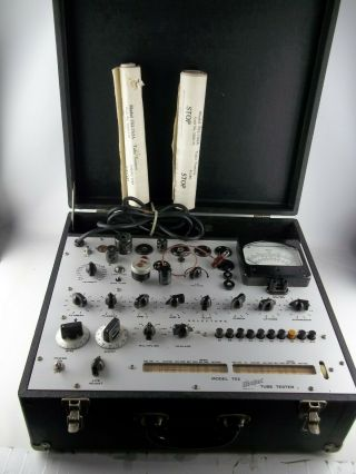 Vintage Hickok 752 Mutual Conductance Tube Tester