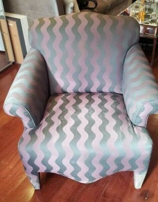 Vintage Donghia Lounge Chairs Purple 1990s