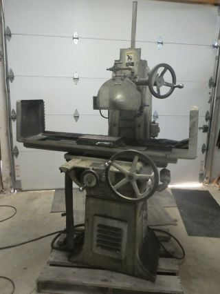 Vintage Abrasive Model 1 - 1/2 10x15 Hand Feed Surface Grinder