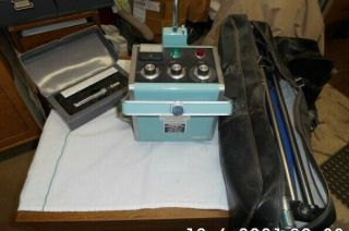 Vintage 1975 Portable X - Ray Machine With Tripod And Lasor Point