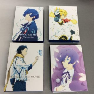 Persona 3 The Movie Limited Edition Dvd Complete Box