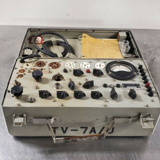 Vintage Hickok Tv - 7a/u Military Tube Tester