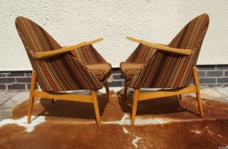 A Vintage German Cocktail Lounge Armchairs Circa 1965 Chairs May19 - 8