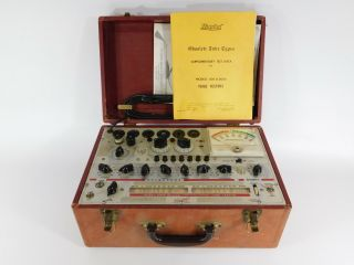 Hickok 600a Vintage Mutual Conductance Tube Tester (, May Need Calibration)