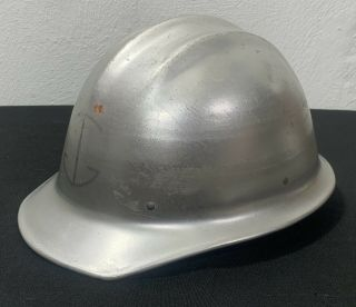 Vintage E.  D.  Bullard Co.  Hard Boiled Aluminum Hard Hat Men's Safety Rare