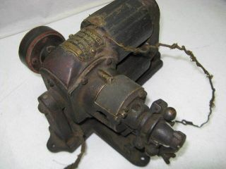 Vintage Motsinger Auto Sparker Hit Miss Gas Engine Friction Magneto Generator