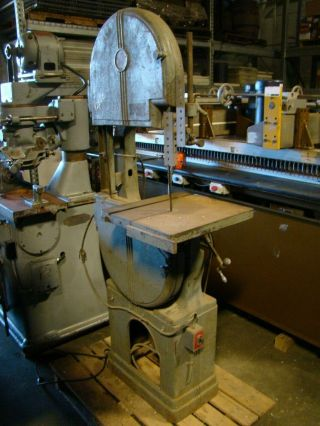Walker Turner Vintage Vertical Bandsaw 1/2hp,  115/230v