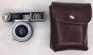 Vintage Leica 1956 Summaron 35mm 1:3.  5 M3 Lens With Goggles & Case,  Sn 1360289