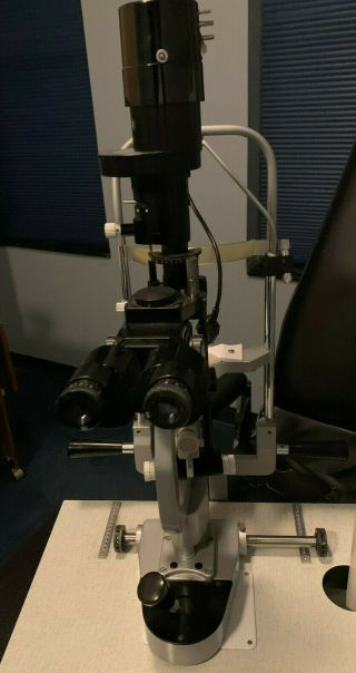 Mentor Slit Lamp Made In Japan Ophthalmology & Optometry.  Vintage No.  86375
