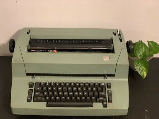 Ibm Selectric Ii Correcting Electric Typewriter Vintage Green