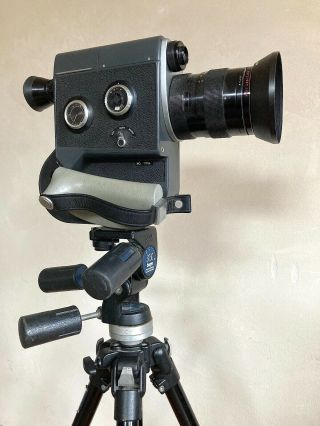 Canon Scoopic 16mm Film Vintage Movie Camera,  Case,  See Video