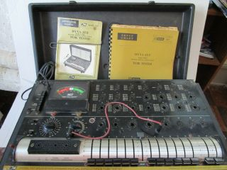 Vintage B&k 747 Solid State Dynamic Mutual Conductance Tube Tester Instructions