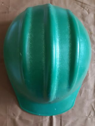 Vintage Bullard 502 Hard Hat Green With Liner
