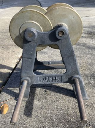 Ideal Sycamore Grinding Wheel Balancer Vintage Illinois Ill