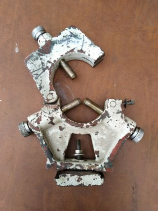 Vtg Good Steady Rest For Machinest Metal Lathe Unknown Size Or Brand.