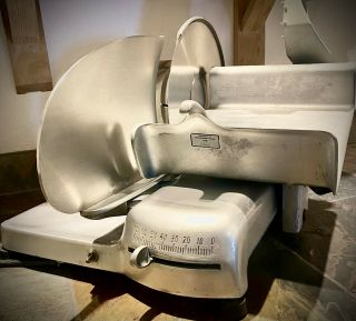 Vintage Hobart Model 410 Commercial Meat And Cheese Deli Slicer - -
