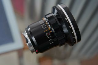 Canon 19mm R F/3.  5 Lens.  Leica M Adapted 6 Bit Coded.  Vintage Cond.