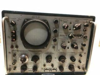 Vintage Os - 82a/usm - 105 Navy Oscilloscope Cool Military Old Very Rare Huge