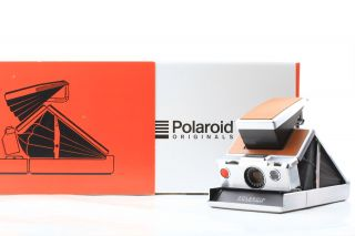 [mint Box] Polaroid Sx - 70 Alpha Brown Instant Vintage Land Camera From Japan