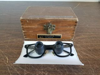 Designs For Vision 3 5x Telescopes Loupes Glasses Dental Surgical Vintage W Box