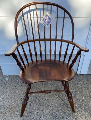Vintage Nichols And Stone Windsor Arm Chair