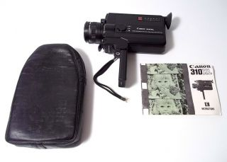Vintage Canon 310xl 8 Movie Video Film Camcorder & Fully Functional