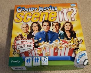 Scene It? Comedy Movies Dvd Game,  Complete