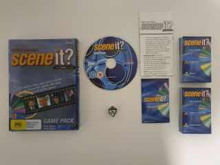 Scene It? Movie Edition • The Dvd Game 2005 Game Pack Trivia • Delivery