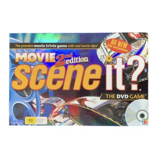 Scene It Movie 2nd Edition The Dvd Game   Pre - Owned   Complete   Tracked Post