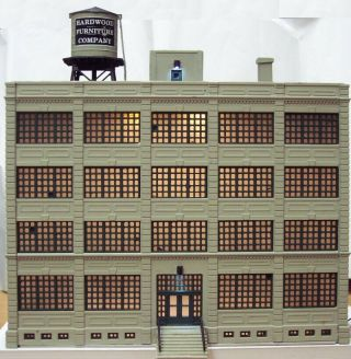 N Scale Walthers Hardwood Furniture,  Built,  Customized,  Led Lights