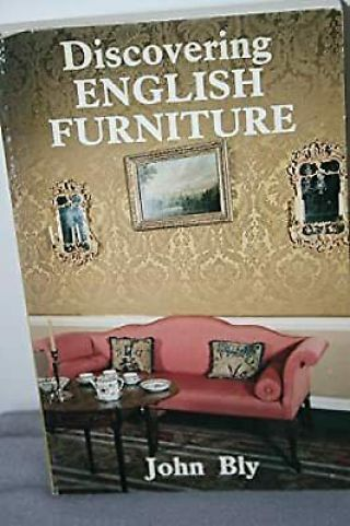 Discovering English Furniture,  Bly,  John,  Used; Good Book