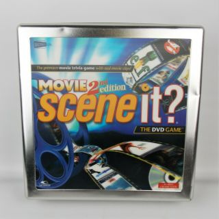 Scene It Movie 2nd Edition The Dvd Game 2007 Tin Case Complete
