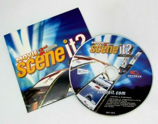 Scene It? Board Game Movie 2nd Edition Dvd Only Replacement 2007