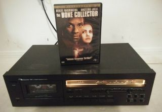 Nakamichi - Model: 480 2 Head Cassette Deck And Working/free Dvd Movie