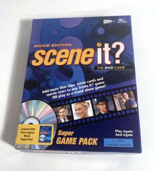 Scene It Movie Edition Dvd Game Pack Edition Trivia