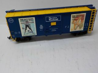 Aristo - Craft Art46039 - 4 Norman Rockwell Summer Boxcar 4 Of4 Series G Scale