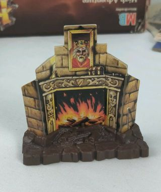 Hero Quest Replacement Fire Place Furniture Part Piece Heroquest Mb