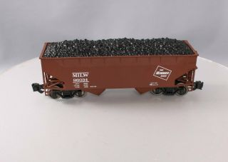 Aristo - Craft 41892x G Milwaukee Road 2 Bay Offset Side Hopper W/load 96034