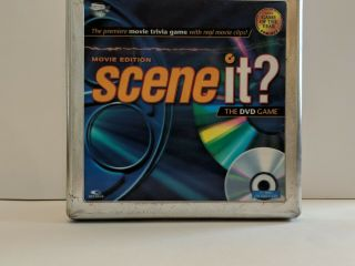 Scene It? The Dvd Game Movie Edition - 2006 Complete Set In Collector