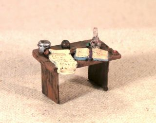 Wizard Table Alchemist Library Study Furniture Scenery Grenadier 2009 Painted