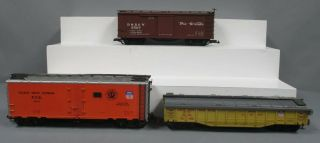 Aristo - Craft,  Bachmann,  And Other G Freight Cars: 46201,  41110,  3527 [3]