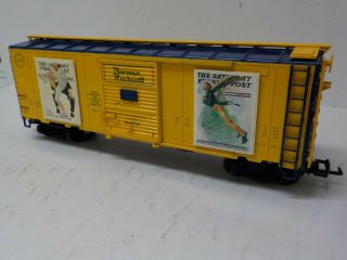 Aristo - Craft Art46039 - 3 Norman Rockwell Summer Boxcar 3 Of4 Series G Scale